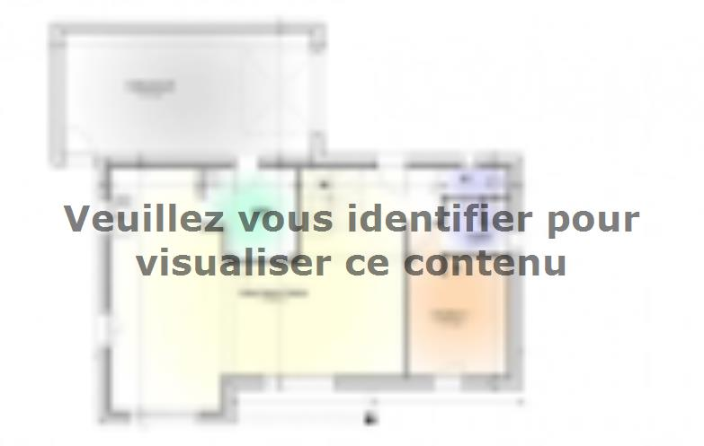 Plan de maison Maison Tendance - Trendy1 : Vignette 1