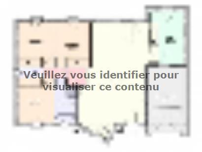 Plan de maison Maison Tendance - Trendy2  : Photo 1