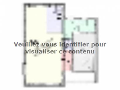 Plan de maison Maison Tendance - Trendy4  : Photo 1