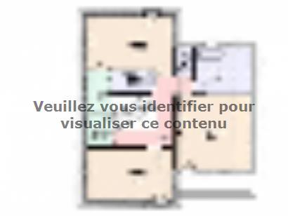 Plan de maison Maison Tendance - Trendy4  : Photo 2