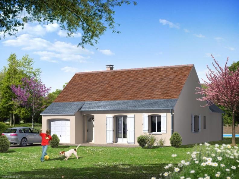 Modèle de maison Maison Traditionnelle - Tradi12 : Vignette 1