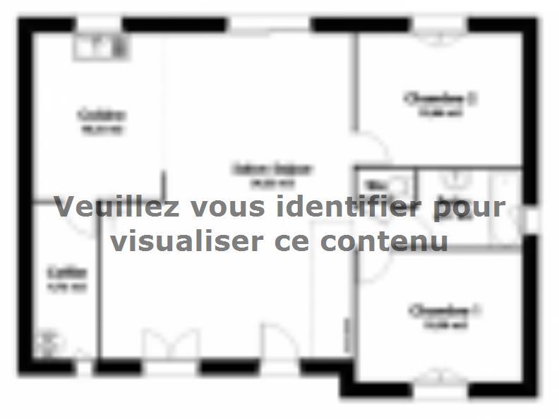 Plan de maison Maison Traditionnelle - Tradi6 : Vignette 2