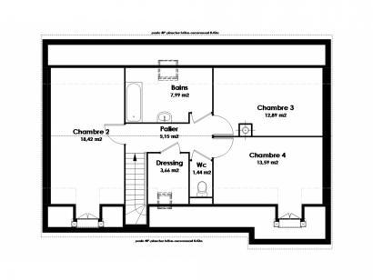 Modèle de maison Maison Traditionnelle - Tradi8 4 chambres  : Photo 3