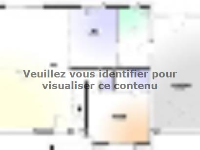 Plan de maison Maison Contemporaine - Archi3  : Photo 1