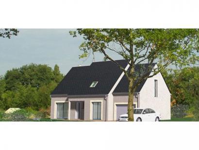 Modèle de maison Maison Contemporaine - Archi3  : Photo 1