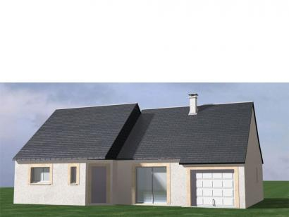 Modèle de maison Maison Contemporaine - Archi2 3 chambres  : Photo 1