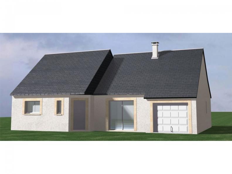 Modèle de maison Maison Contemporaine - Archi2 : Vignette 1