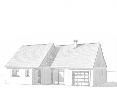 Modèle de maison Maison Contemporaine - Archi2 3 chambres  : Photo 2