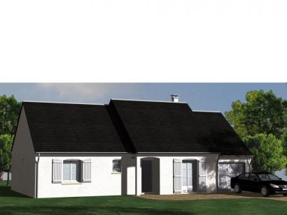 Modèle de maison Maison Contemporaine - Archi17 3 chambres  : Photo 1