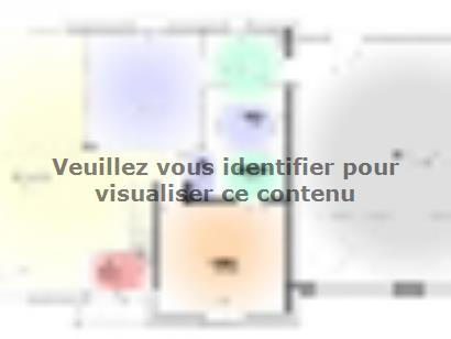 Plan de maison Maison Contemporaine - Archi11  : Photo 1