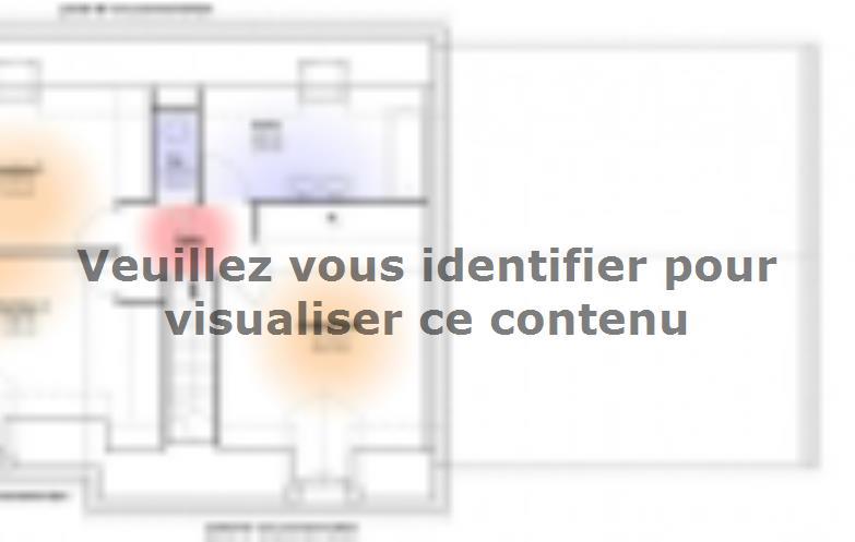 Plan de maison Maison Contemporaine - Archi11 : Vignette 2