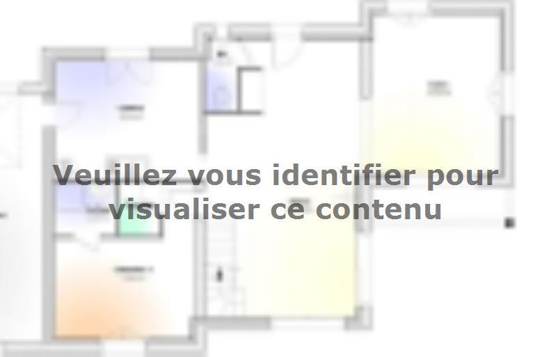 Plan de maison Maison Contemporaine - Archi7 : Vignette 1