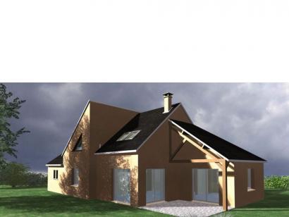 Modèle de maison Maison Contemporaine - Archi7 4 chambres  : Photo 1
