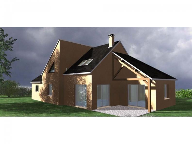 Modèle de maison Maison Contemporaine - Archi7 : Vignette 1