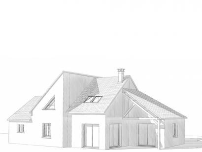 Modèle de maison Maison Contemporaine - Archi7 4 chambres  : Photo 2