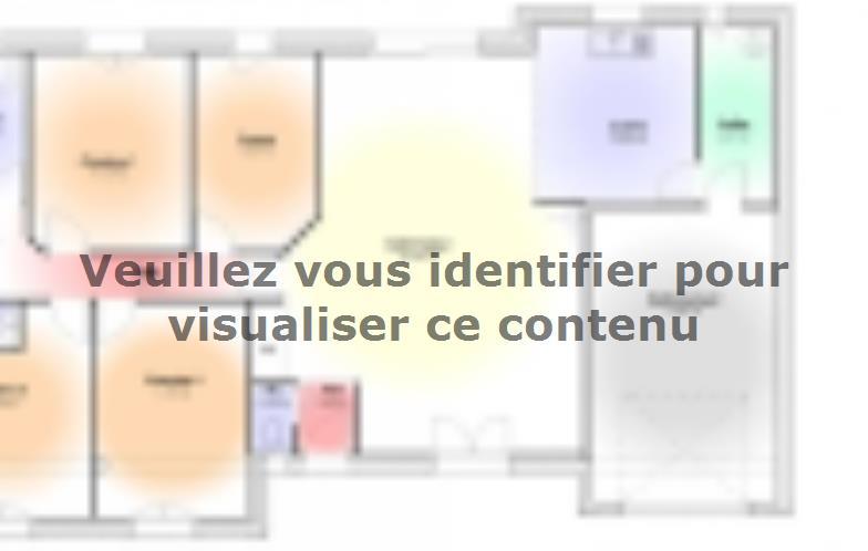 Plan de maison Maison Contemporaine - Archi18 : Vignette 1