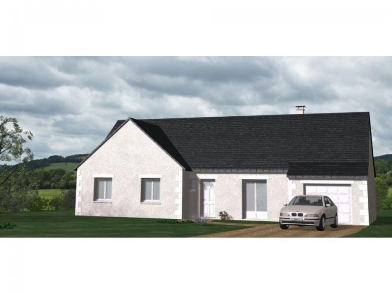 Modèle de maison Maison Contemporaine - Archi18 : Vignette 1