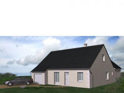 Modèle de maison Maison Contemporaine - Archi15 3 chambres  : Photo 1