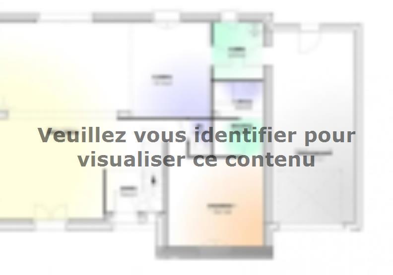 Plan de maison Maison Contemporaine - Archi16 : Vignette 1