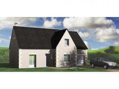 Modèle de maison Maison Contemporaine - Archi16 5 chambres  : Photo 1