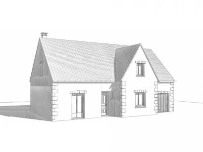 Modèle de maison Maison Contemporaine - Archi16 5 chambres  : Photo 2