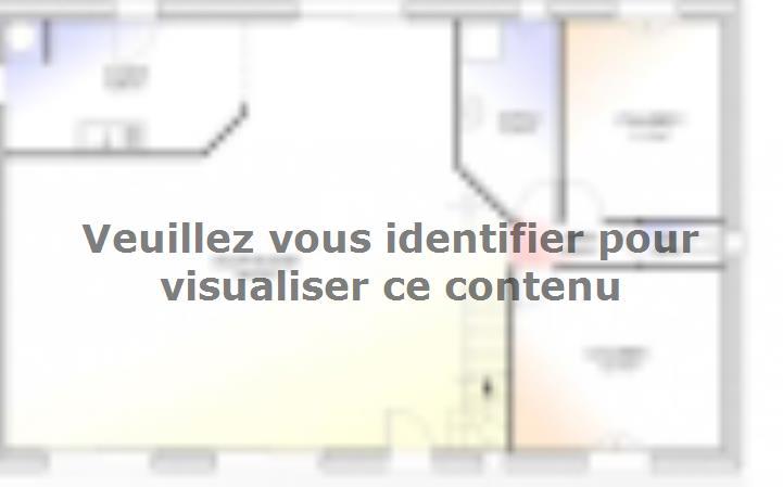Plan de maison Maison Contemporaine - Archi9 : Vignette 1