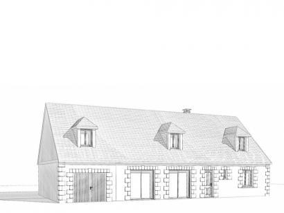 Modèle de maison Maison Contemporaine - Archi9 2 chambres  : Photo 2