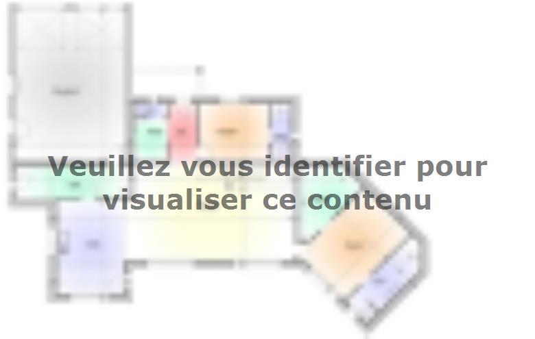 Plan de maison Maison Contemporaine - Archi10 : Vignette 1