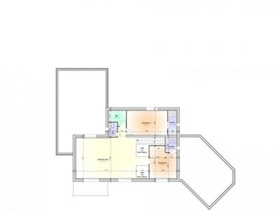 Plan de maison Maison Contemporaine - Archi10  : Photo 2