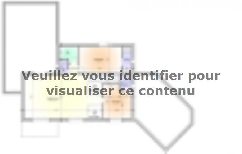 Plan de maison Maison Contemporaine - Archi10 : Vignette 2