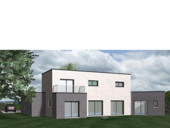 Modèle de maison Maison Contemporaine - Archi10 : Photo 1