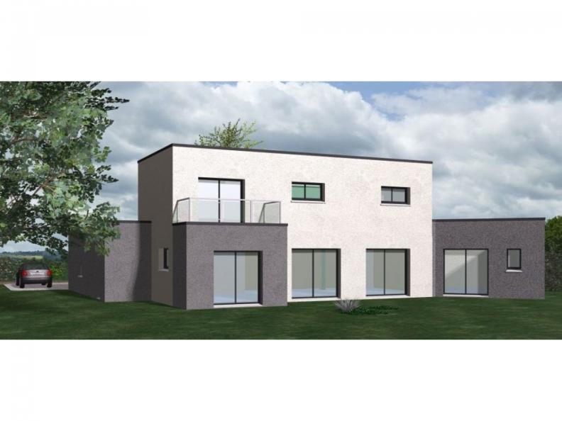 Modèle de maison Maison Contemporaine - Archi10 : Vignette 1