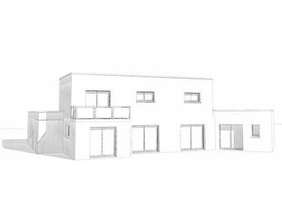 Modèle de maison Maison Contemporaine - Archi10  : Photo 2