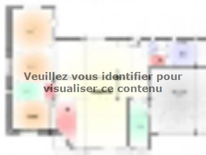 Plan de maison Maison Contemporaine - Archi8 3 chambres  : Photo 1
