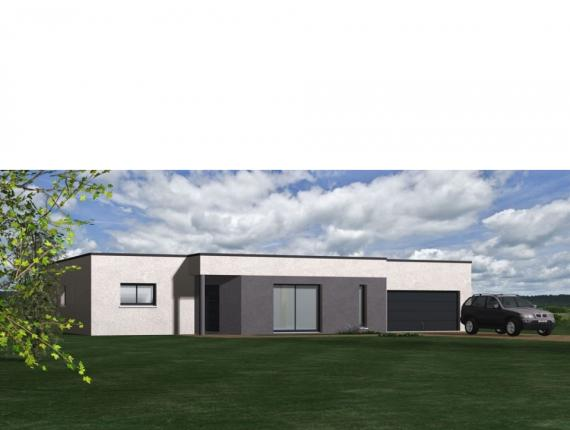 Modèle de maison Maison Contemporaine - Archi8 : Photo 1