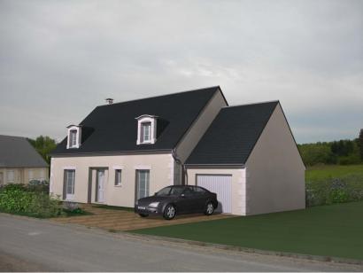 Modèle de maison Maison Contemporaine - Archi5 4 chambres  : Photo 1