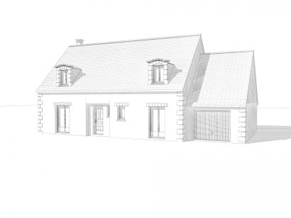Modèle de maison Maison Contemporaine - Archi5 4 chambres  : Photo 2