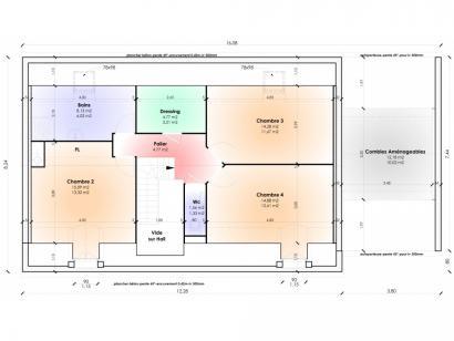 Modèle de maison Maison Contemporaine - Archi5 4 chambres  : Photo 3