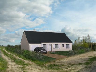 Modèle de maison Maison Contemporaine - Archi23 4 chambres  : Photo 1