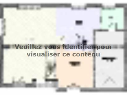 Plan de maison Maison Contemporaine - Archi24  : Photo 1