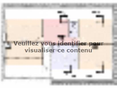 Plan de maison Maison Contemporaine - Archi24  : Photo 2