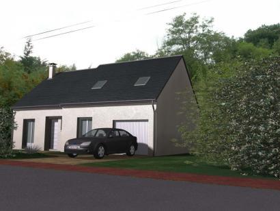 Modèle de maison Maison Contemporaine - Archi24  : Photo 1
