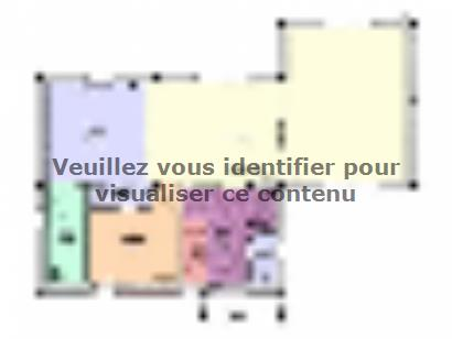 Plan de maison Maison Contemporaine - Archi25  : Photo 1