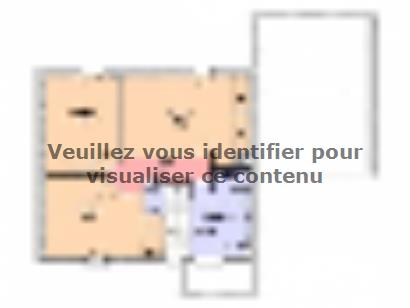 Plan de maison Maison Contemporaine - Archi25  : Photo 2