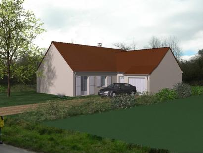 Modèle de maison Maison Contemporaine - Archi26  : Photo 1
