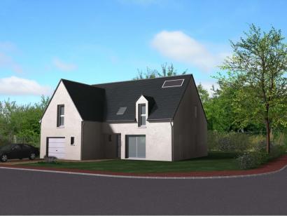 Modèle de maison Maison Contemporaine - Archi27  : Photo 1