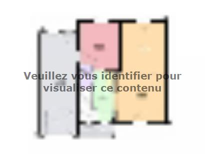 Plan de maison AMETHYSTE contemporain 3 chambres  : Photo 1