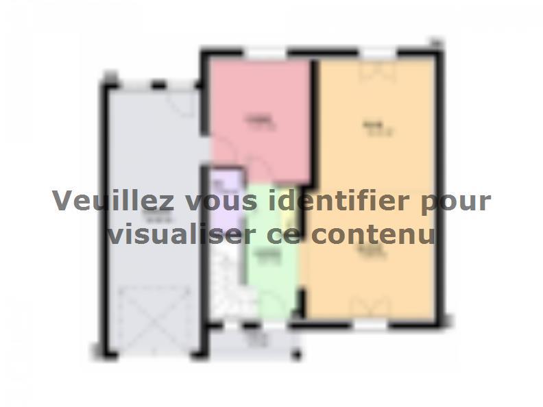 Plan de maison AMETHYSTE contemporain : Vignette 1
