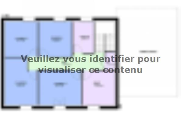Plan de maison EMERAUDE contemporain  : Photo 2