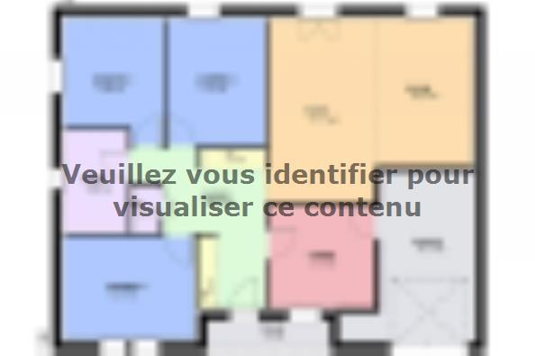 Plan de maison JADE  : Photo 1